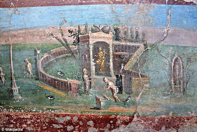 Стенописите са доказателство за космополитността на римското общество.