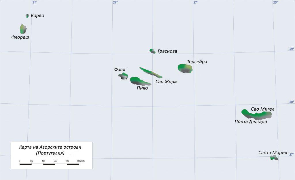 Групирани в три групи Азорските острови предлагат бърз, лесен и добре уреден транспорт между всеки един от островите.