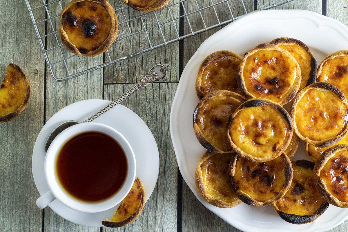 Пащел де Ната са перфектният десерт, който да акомпанира вашето свежо сутрешно кафе.