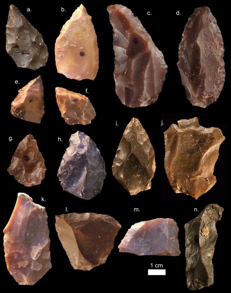 Тези каменни инструменти дават шанс на изследователите да разберат точната възраст на селището в Мароко