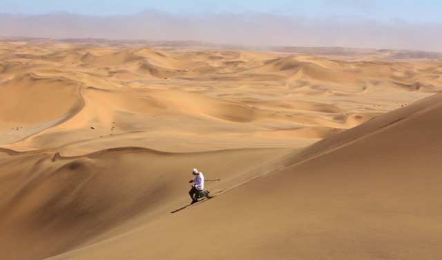 ски на пясък