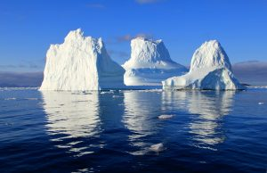 Как ви звучи плаване сред айсбергите?