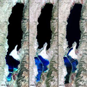 Мъртво море е едно от природните чудеса на света
