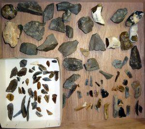 Предмети, открити от мезолита