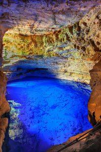 Омагьосаният кладенец се намира в доломитна пещера