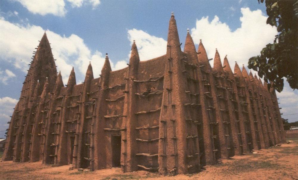 Джамията Конг в Кот д'Ивоар