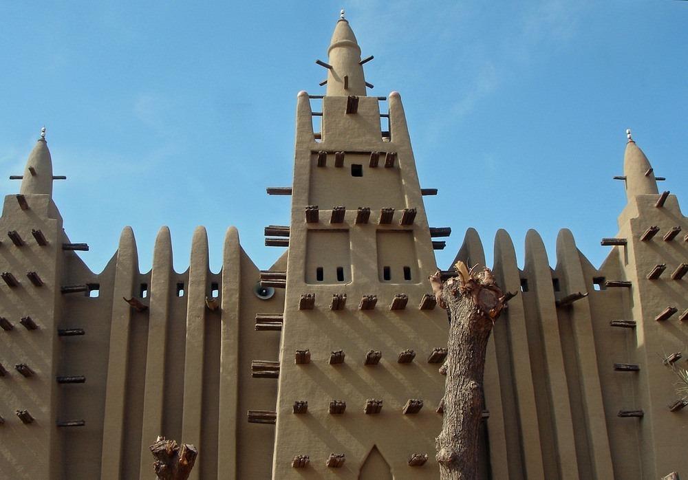 Голямата джамия в Мопти, Мали
