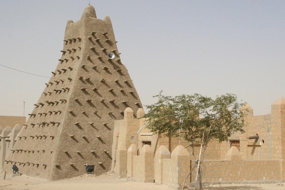 Джамията Санкоре в Мали