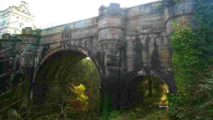 Моста Овертон в Шотландия