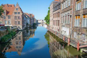 Град Гент е столицата на провинция Източна Фландрия