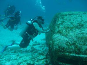 Подводните хора в Канкун