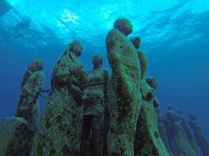Резултатите в подводния музей в Канкун