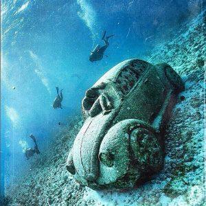Резултатите в подводния музей в Канкун..