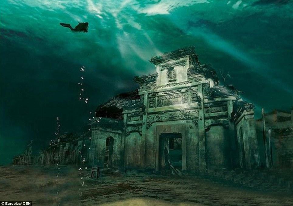 На дъното на морето: 5 удивителни потънали града 4